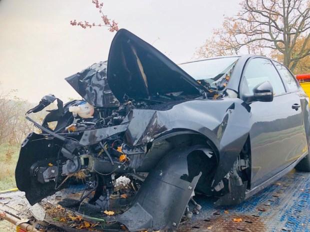 Bestuurder (50) overleden na klap tegen boom in Diest