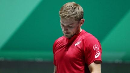 """David Goffin na individuele nederlaag en uitschakeling in Davis Cup: """"Haalde deze week nooit mijn beste niveau"""""""