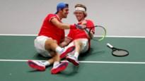 Rusland klopt het Servië van Djokovic na thriller en staat in de halve finales Davis Cup