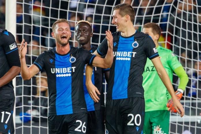 Club Brugge kent geen problemen met tien man van Oostende