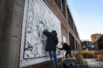 Oudste street art van Hasselt in ere hersteld