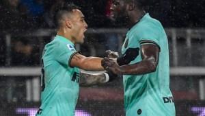 Romelu Lukaku doet de netten opnieuw trillen en blijft topscorer in Serie A