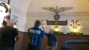 Man die Hitlergroet bracht is zoon van voormalig parlementslid Vlaams Belang