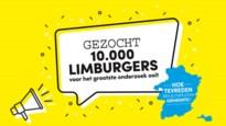 Dit is je laatste kans om mee te doen aan het grootste Limburgonderzoek ooit