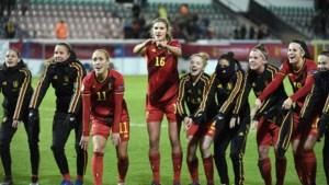 Zwaar oefenprogramma Red Flames voor belangrijk duel met Zwitserland
