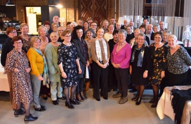 Cantate viert haar dirigent Marie-Rose Van Gerven