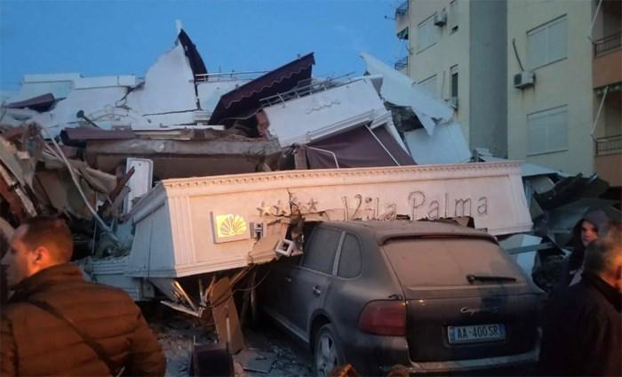 Zware aardbeving in Albanië: zes doden en honderden gewonden