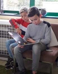 Leerlingen derde graad organiseren een ontspannend voorleesatelier