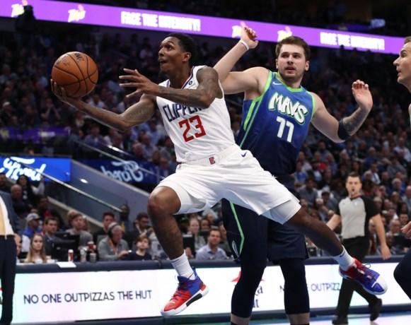 NBA. LA Clippers overwinnen het Dallas van Luka Doncic