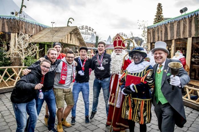 800 Salzburg-supporters warmen zich in Winterland op voor match tegen KRC Genk