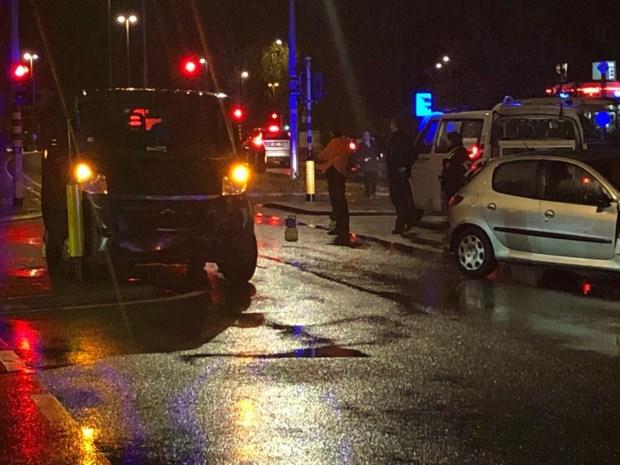 Vrouw gewond bij ongeval op kruispunt Koolmijnlaan
