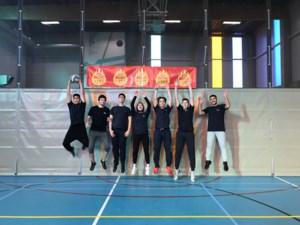 Lucernacollege speelt volleybal voor Warmste Week