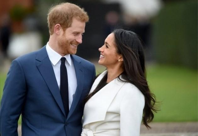 Meghan Markle en prins Harry delen nooit eerder vertoonde trouwfoto