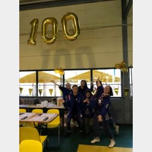 KSA De Blauwvoet Maasmechelen viert 100ste verjaardag op spaghettidag