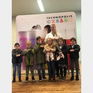 Leerlingen van Mozaïek op bezoek bij Technopolis on Tour