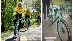 Van Aert kan kasseien in Roubaix al verkennen