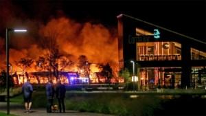 Ethias eist 300.000 euro van Winterland voor uitgebrande loods op Corda Campus