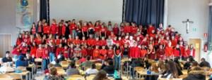 Ook Middenschool Sint-Michiel zet zich in voor Rode Neuzen Dag