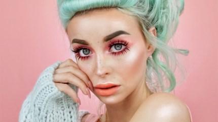 Wereldberoemd op Instagram: Antwerpse make-upartieste heeft 640.000 volgers