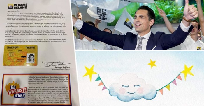 Vlaams Belang verkoopt 'Vlaamse identiteitskaarten' voor Warmste Week, goede doel aanvaardt actie niet