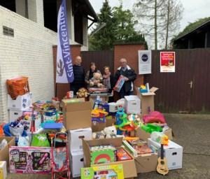 Inzamelingsactie van speelgoed voor kansarme kinderen