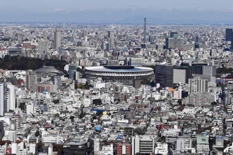 Bouw van olympisch stadion in Tokio is afgerond