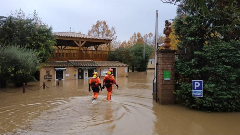 Code rood in twee departementen in Frankrijk door zwaar noodweer