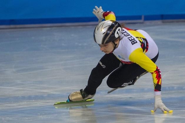 WB shorttrack in Japan: Hanne Desmet eindigt als vierde in 1500 meter maar wordt gediskwalificeerd