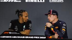 """Hamilton fluistert tegen Verstappen: """"Wat een meiden hier in Abu Dhabi!"""""""