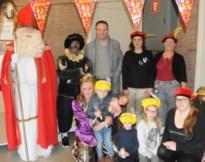 Sinterklaas ontvangt meer dan 150 kinderen bij vzw Share & Care
