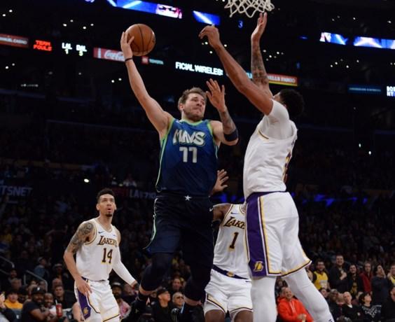 NBA. Dallas stopt knappe zegereeks van LA Lakers