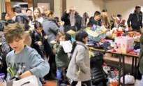 Meer dan 150 kinderen naar het Sint Geefplein