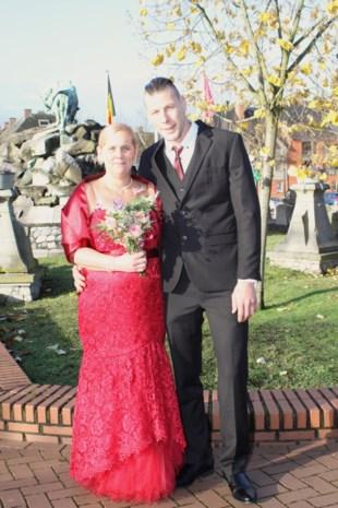 Els en Tom in Leopoldsburg