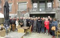 Vzw Europa nostra en VVIA bezoeken de mijnsite