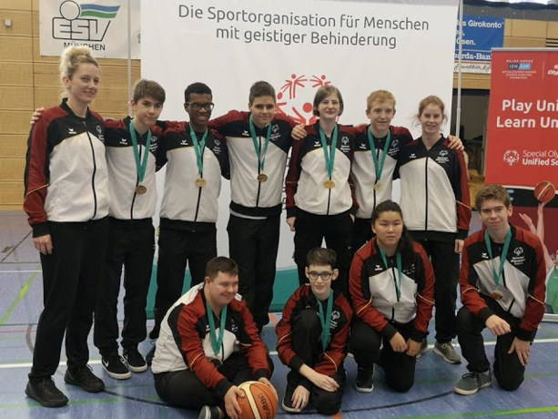 Unified Basketball Team Belgium wint tornooi in München