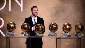 Messi verovert zesde Gouden Bal