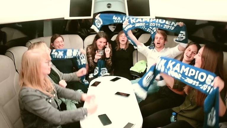Dames van KFC Hamont als VIP naar Limburgse derby