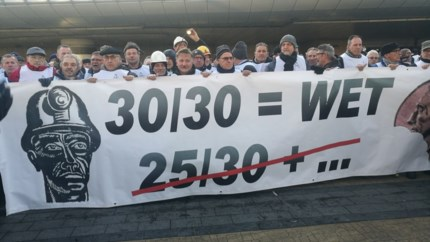 Mijnwerkers halen eerste slag thuis na manifestatie in Brussel