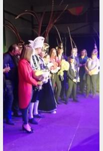 Prins Niels I en Jeugdprinses Iliana I gekroond tot nieuw prinsenkoppel