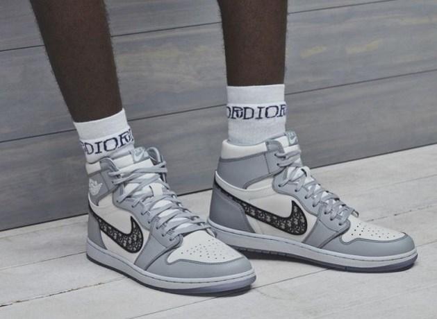 Nike stelt exclusieve sneaker in samenwerking met Dior voor