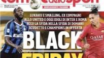 """Ophef rond voorpagina Italiaanse krant: """"Lukaku is hier erg gevoelig voor"""""""
