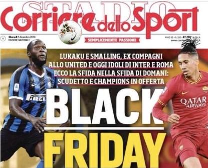 Ophef rond voorpagina Italiaanse krant, Romelu Lukaku heeft het laatste woord