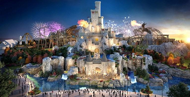 Gigantisch attractiepark opent over vijf jaar de deuren: kijk nu al even rond