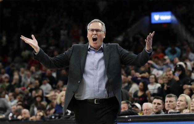 Houston Rockets vechten nederlaag bij San Antonio aan na scheidsrechterlijke dwaling