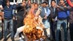 Slachtoffer van verkrachting in brand gestoken op weg naar rechtbank in India