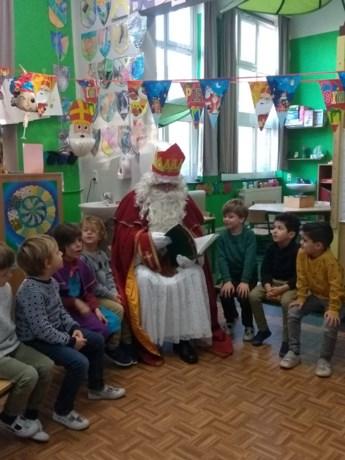 Daltonschool bezorgt Sinterklaas prachtige verjaardagskroon