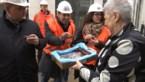 Burgemeester bezoekt stadswerven in Hasselt