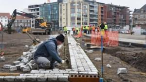 Arbeiders werken tegen de klok op Hasseltse werven
