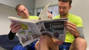 KRC Genk-spelers vieren 140 jaar Het Belang van Limburg