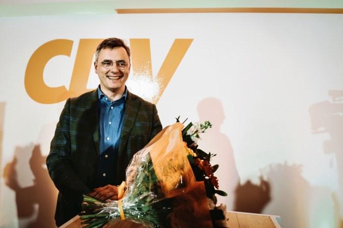 """Kersvers CD&V-voorzitter Joachim Coens: """"Tegen 2024 wil ik met CD&V 24 procent halen"""""""